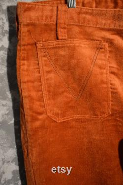 1970's Deadstock Corduroy Bell Bottoms (Expressions by Campus)