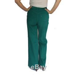 26 x32 1960's Big E Levis Corduroy Bell Bottoms in Green