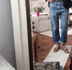 70s Levis 501 Faded Distressed Levis 501 w 31 light blue