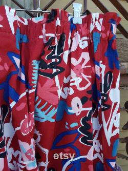 Abstract Garden 'Back to Front Vice Versa' Pants