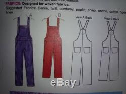 Adult Baby Overalls Snap Crotch ABDL DDLG SISSY