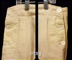 Amazing Womens 1920-30's Knickers Short Pants Sports Perfect a Gatsby or Golf Ensemble L k
