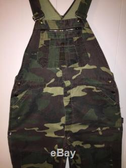 Authentic Camouflage Vintage Liberty Overalls- Size Mens XL