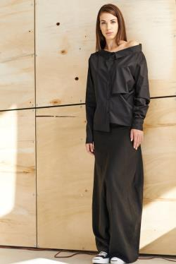 Black Linen Pants Extravagant Drop Crotch Black Pants Loose Linen Trousers Stylish Harem Pants by AryaSense