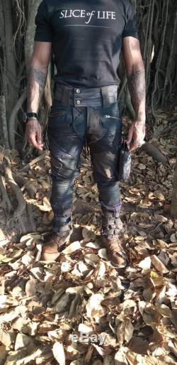 Chopper- men and women's post apocalyptic trousers, burning man trousers, futuristic fashion