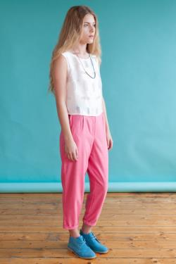 Coral Trousers
