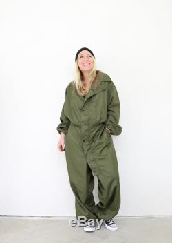 Deadstock, 1980s Army Issued Coveralls Men's Size Medium Women's Size Large to Extra Large