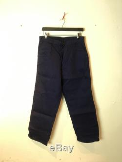 Deadstock french workwear pants 1950s