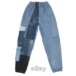 Denim Cargo Joggers Size Adult Small