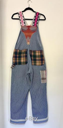 FREE SHIPPING- 2019 Rodeochics Fall line -Custom made Vintage Overalls with Pendleton Wool (R) Accents