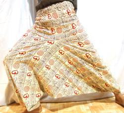 Free Shipping christmas gifts,VINTAGE Wholsale Price Lot 10 Popular Harem Pants with Hand Block Print-Yoga Wear, Lounge Wear, Dance Wear