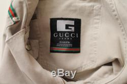 Gucci Jeans Vintage Gucci Beige Gucci Pants Mens Highwaisted Jeans Denim Grunge Pants Trousers Hippie Bohemian Boyfriend Jeans Size 32