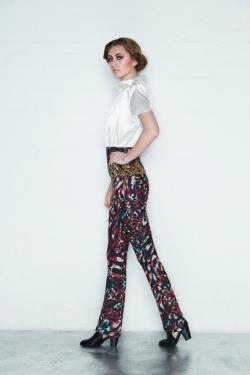 Gypsy Business Woman Pant Suit, Hipster business suit, modern business suit for her