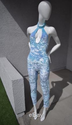 Hand Dyed Velour Cat Suit