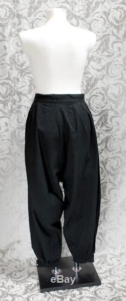 Harem trousers, Gothic, Wave, 80ies made to measure