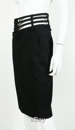 JEAN PAUL GAULTIER Iconic Black Cage Skirt
