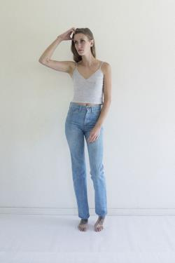 LEVI'S 70s High Waist Jeans size 24