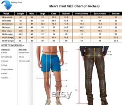 Leather Sweat Pants Buy Men Genuine Pure Real Leather Gents GYM Sports Unisex Pants SP013