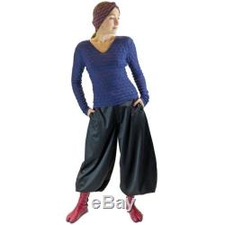 Long Nikka pants in Tatami wool, jodhpur very long pants, baggy trousers, perfect for tall people,