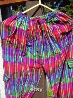 MULTI-PANTS SPECIAL (5 pants) Free shipping in North America, Half Price shipping International Funky Pants (South American style)