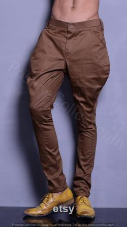 Mens Green and Brown Color Jodhpurs Breeches Equestrian Pants Horse Riding Sports Breeches Polo Pants Baggy Breeches Trousers For Men