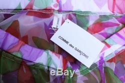 NWT COMME des GAR ONS AD2000 Floral and Camo Pants