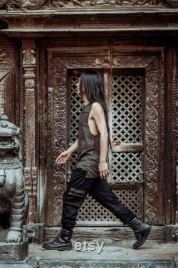 Panelled Baggy Trunks Men Goa Pants Tribal Clothing Mens Hippie Clothing Festival Clothing Psy Wear Psychedelic Clothing Psy Clothing