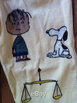 RARE and one of a kind 1963 senior cords corduroy pants with Snoopy medium