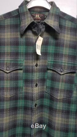 R.R.L. DOUBLE R.R.L. 1993 1994 FLANNEL SHIRT Never Worn, Still With all Tags On