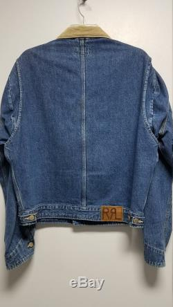 R.R.L. DOUBLE R.R.L. Early 90's. Never worn