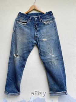 Rare Vintage Distressed Jeans Japanese Brand By Studio D Artisan Size 32