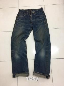 Rare Vintage LEE Cowboy Jeans Union Made Selvedge Denim Pants W28