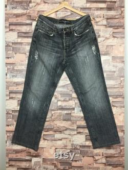 Richmond Denim Jeans Made In Italy Distressed Colour