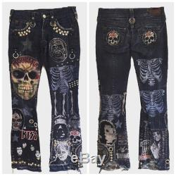 Rock N Roll Mfer jeans by Chad Cherry