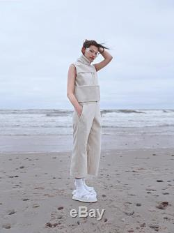 SS17 Jumpsuit White jumpsuit Handmade Large size overalls Unisex New collection Velvet Overalls Industrial design