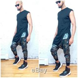 Sequin Camo Printed Jogger Pant-Rick Owens Yeezy, Inspired