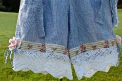Sweet Shabby Chic Rustic Romantic Bloomers Crocheted Details Flowers Rustics Cowgirl Chic Mori Girl