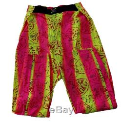 VERY rare Retro Neon Surfer pants .one size fits all
