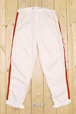 Vintage 1950's 60's WORTH Auto Racing Pants CONTINENTAL Flame Retardant Retro Collectable Rare