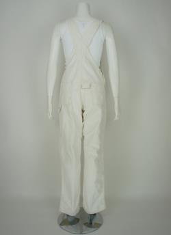 Vintage 40's 50's Universal White Work Overalls size 30 x 32