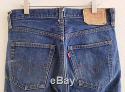 Vintage 505 Levis Jeans 31x32 Made in USA Hole Ripped Jeans