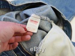 Vintage 80s 501 Levis red tab button fly jeans USA W33 L29