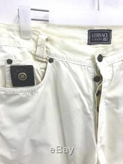 Vintage 90s Versace V2 Classic Pants.Gianni Versace Versus Versace.Size 32.Made in Italy