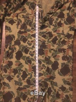 Vintage Camouflage Coveralls Jumpsuit WWII Era
