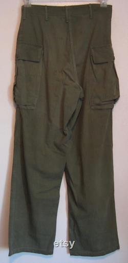 Vintage HBT Field Trousers circa the 50's