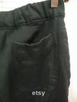 Vintage ISSEY MIYAKE men black sweatpants japanese designer joggerpants waist 30-33