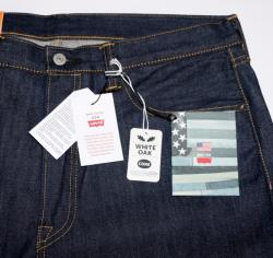 Vintage LEVIS 501 32x34 lvc Shrink to fit rED SELVAGE jeans dENIM made in USA New