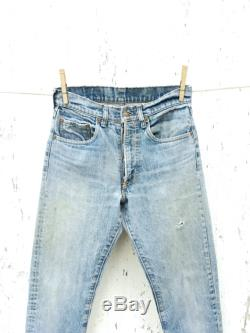 Vintage LEVIS 505 Jeans 28 Waist Mom Jeans Button Fly