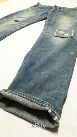 Vintage Lee Riders White Tab Union Made size M selvedge Universal zipper made in japan N.O.S with tag Original Costumed jeans denim season