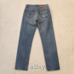 Vintage Levi's 501 high waisted jeans made in USA 29 30